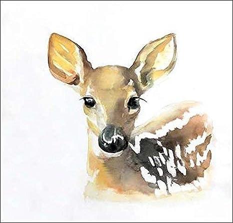 Fun Giraffe Keilrahmen-Bild Leinwand lustig gelb Tiere Spass Atelier B