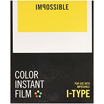 Impossible I-Type Color Instant Film for I-1 Camera and Instant Lab