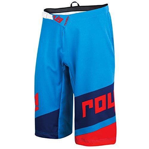 Royal Racing Victory Race Shorts, Cyan/Navy/Red, - Cyan Shorts