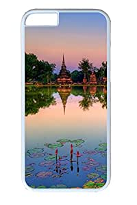 iphone 6 4.7inch Case and Cover Sukhothai historical park thailand PC case Cover for iphone 6 4.7inch White
