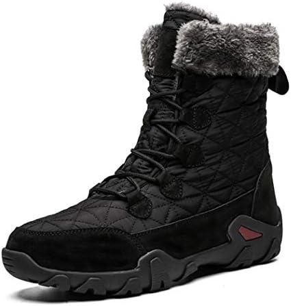 アウトドアシューズ 人気 裏ボア 暖かい 防滑 スノーブーツメンズ 厚底 防寒 冬 短靴 歩きやすい 保温 ムートンブーツ ウィンターブーツ ショットブーツ フラット 滑り止め もこもこ 雪靴 軽量 ワークブーツ