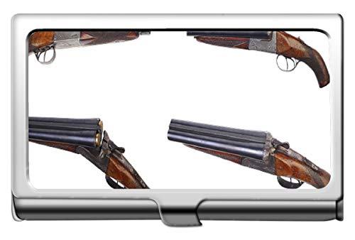 (Professional Business Credit Card Case/ID Case,Gun Gale Online Shotgun Credit Card ID Case/Holder/Cards Case)