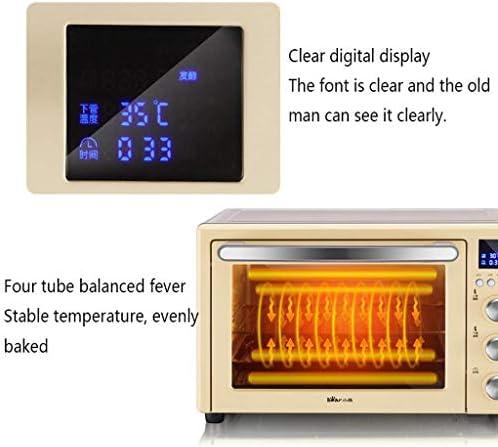 Qinmo Four électrique, Ménage 32L Four avec réglage de la température 0-230 ° C et synchronisation intelligente 1500W à trois couches de verre porte du four