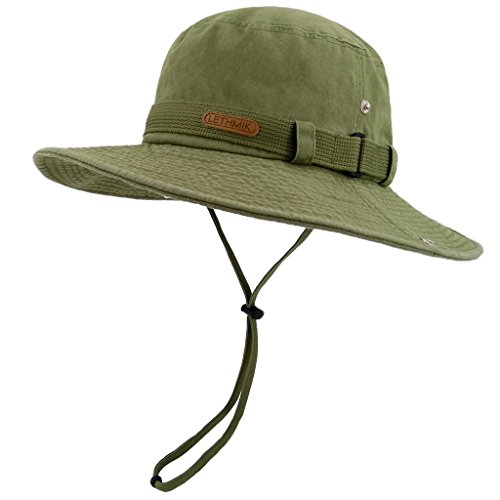 f3925fbce1d1a LETHMIK Washed Outdoor Fishing Camping. Review - LETHMIK Washed Cotton Boonie  Hat ...