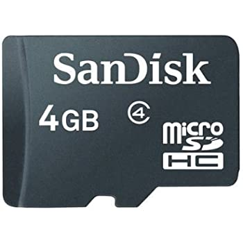 Amazon.com: Sandisk 4GB MicroSDHC Memory Card with SD ...
