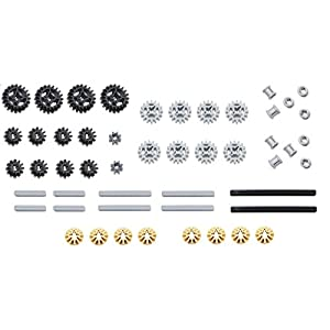 LEGO 50pc Technic gear & axle SET - 41krqomDuIL - LEGO 50pc Technic gear & axle SET