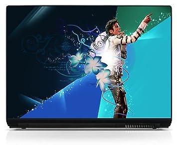 Skin adhesivo para ordenador portátil, diseño de Michael Jackson ref 103: Amazon.es: Electrónica