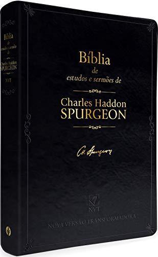 Bíblia de estudos e sermões de C. H. Spurgeon: Nova Versão Transformadora