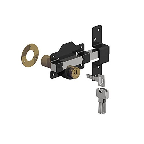 Gatemate 50 mm largo cerrojo con pasador de acero inoxidable de doble cierre 5 llaves Gatemate