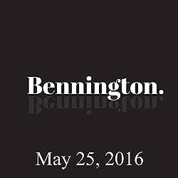 Bennington, May 25, 2016