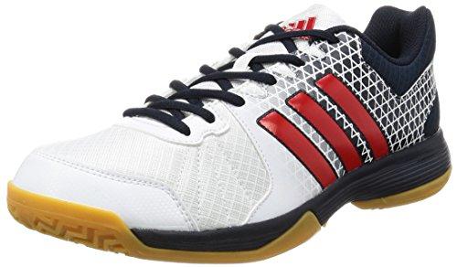 Adidas Homme Ligra 4 Volleyballschuhe Blanco (ftwbla / Rojint Maosno)