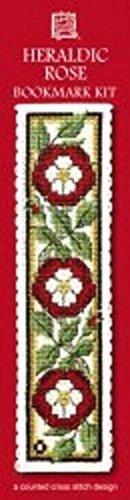 Textile Heritage Heraldic Rose Counted Cross Stitch Bookmark Kit (Heraldic Rose)