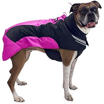 Amazon.com : Hurtta Torrent Coat Dog Raincoat, Cherry, 8