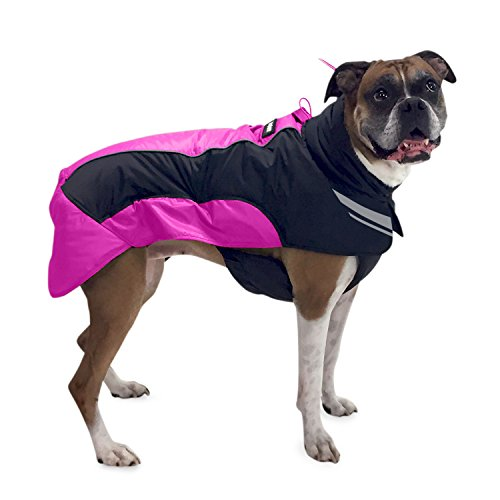 Ultra Light Soft Shell Dog Jacket- Winter Dog Coat With One-Zip Setup / Durable Waterproof Dog Coat / Winter Dog Jacket / Dog Rain Jacket By FrontPet Explorer - Winter Jackets For Dogs