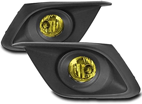 ZMAUTOPARTS For Mazda 3 Hatchback/Sedan Fog Lights Lamps Yellow