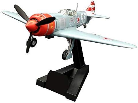 1/72スケールのジェット戦闘機のプラモデル、軍事LA-7ソ連プラモデル、大人のグッズやギフト、5.4Inch X 4.8Inc