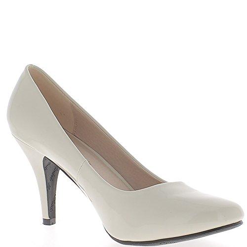 Escarpins femme grande taille beiges clair à talon de 9,5cm