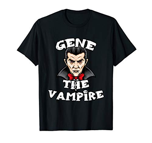 Gene Grey Halloween Costumes - GENE The Vampire T-Shirt Halloween Simple