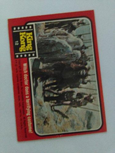 1976 Topps King Kong #12 -