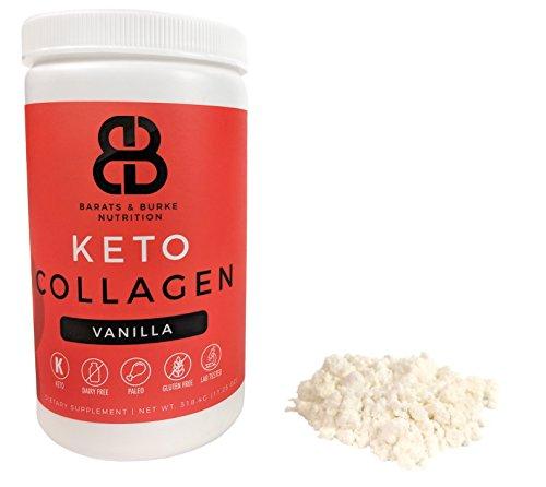 BB Nutrition Keto Collagen, MCT Oil Plus Collagen Peptides (Vanilla) For Sale