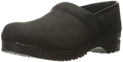 - Sanita Women's Textured Oil Narrow Mule, Black, 43 EU/12 N US