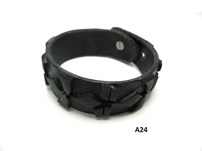 Handmade Armband Aus Recyceltem Fahrradreifen Upcycling Amazon