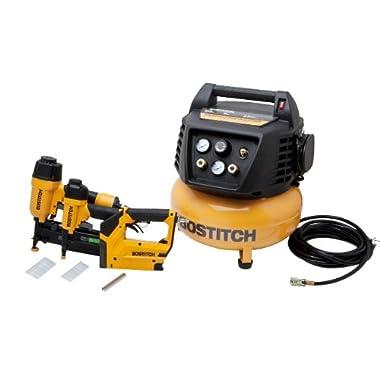 BOSTITCH BTFP72646 3-Tool Compressor Combo Kit