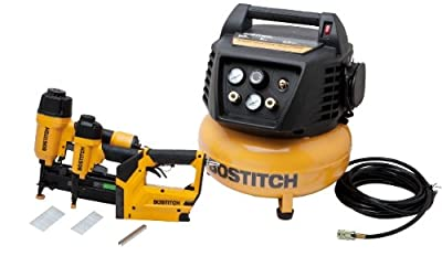 BOSTITCH BTFP72646 3-Tool Compressor Combo Kit