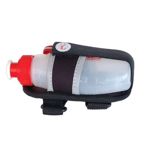 Gel Holder Flask (Fuelbelt Bike Gel 6oz Flask Holder Black)