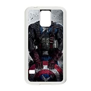 Captain Americ Samsung Galaxy S5 Cell Phone Case White DIY Ornaments xxy002-3702833
