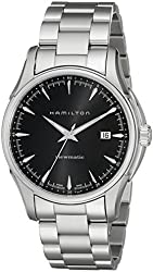 Hamilton Men's H32665131 Jazzmaster Black Dial Watch
