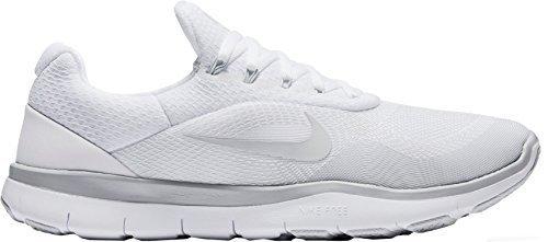 11aee138feecd Nike Mens Free Trainer V7 Training Shoe (White, 8)