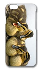 Adorable fluffy ducklings Hard Case Protective Shell Cell Phone Cover For Apple Iphone 6 Plus (5.5 Inch) - PC 3D