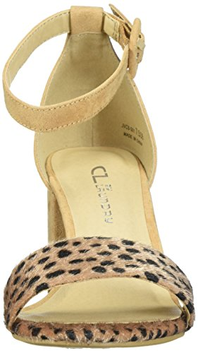 Cl Dalle Donne Cinesi Della Lavanderia Jody Block Heel Dress Sandal Cheetah / Nugg