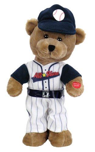 Baseball Musical (Chantilly Lane Animated Slugger Baseball Bear)