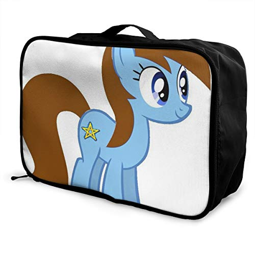 Lightweight Large Capacity Portable Luggage Bag My Little Pony Unicorn Foldable Storage Carry