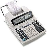 Calculadora Compacta de Mesa com 12 Dígitos, Calendário, Relógio, Elgin 42MA51210000, Gelo