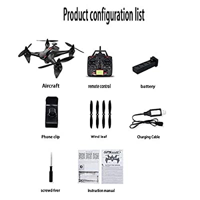 LIJUN GW198 Follows Drone Aerial Shooting Four-axis Aircraft GPS Professional Remote Control Aircraft