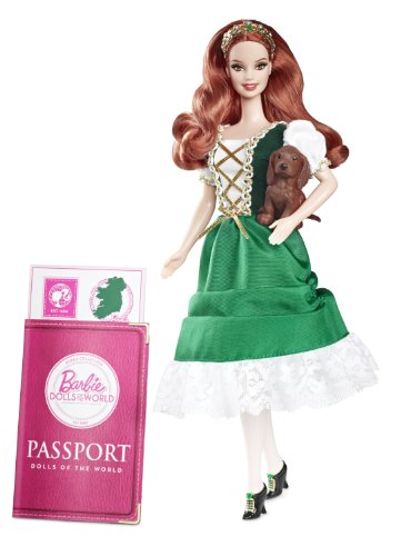 (Barbie Collector Dolls of The World Ireland Doll)