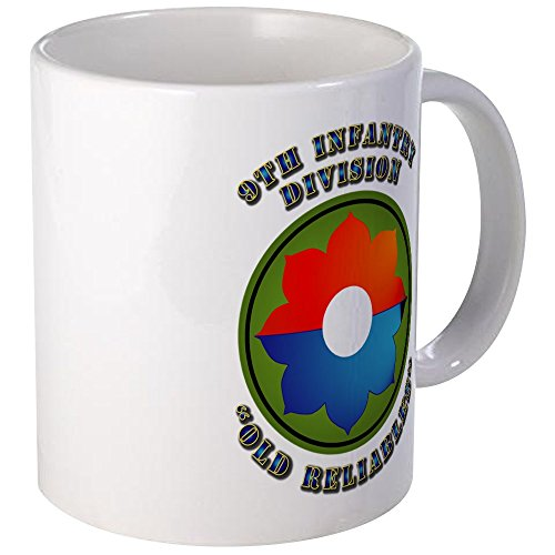 Infantry Division Coffee Mug (CafePress - Army - SSI - 9Th Infantry Division Mug - Unique Coffee Mug, Coffee Cup)