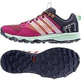 adidas Outdoor Kanadia 7 Trail Running Shoe - Women's Bold Pink/Chalk White/Solar Orange 8.5