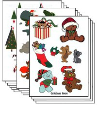Christmas Pack of 100 sheets Temporary Tattoo by TattooFun (Image #1)