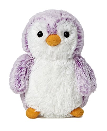 Aurora World Pom Pom Penguin Bright Violet Plush, 6