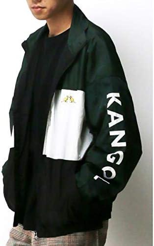 ヴァンスエクスチェンジ メンズ(VENCE EXCHANGE) KANGOLプリントトラックジャケット