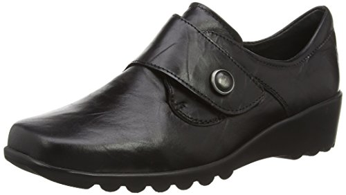 Romika Carree 12, Mocasines para Mujer, Blank negro (black 07100)