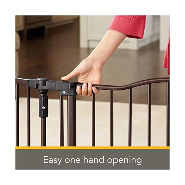 "Baby Safety Decor 30/"" Tall Child Gate Childproof Fits Openings 38.3/"" To 72/"" Wide"