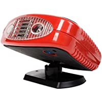 12 Volt Dc Auto Portable Heater Fan Defroster with Light Electric Car Heater