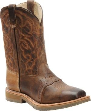 Double H Mens DH3567 Square Steel Toe Roper Boot