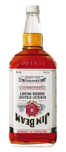 Jim Beam Weiß Kentucky Straight Bourbon Whisky (1 x 4.5 l)