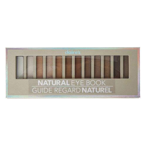 Paleta de sombra Natural 12 cores Claire´s claires